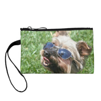 Cool Yorkshire Terrier Change Purse