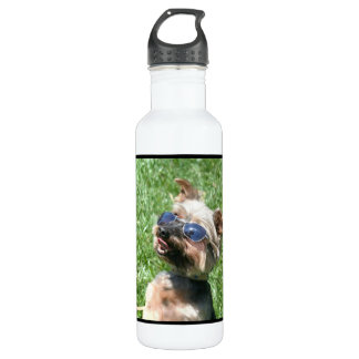 Cool Yorkshire Terrier Stainless Steel Water Bottle