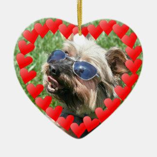 Cool Yorskshire Terrier ornament
