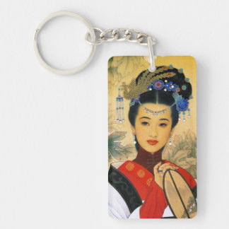 Cool young beautiful chinese prince Guo Jin art Acrylic Key Chain