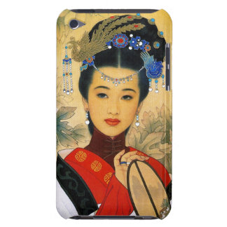 Cool young beautiful chinese princess Guo Jin art Barely There iPod Cover