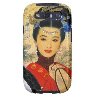 Cool young beautiful chinese princess Guo Jin art Galaxy S3 Cases