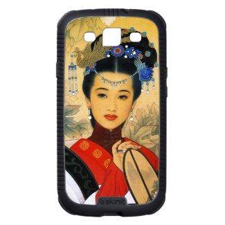 Cool young beautiful chinese princess Guo Jin art Galaxy SIII Covers