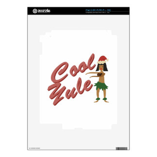 Cool Yule Decal For The iPad 2
