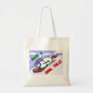 Cool Yule Snowman Bags