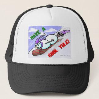 Cool Yule Snowman Hat