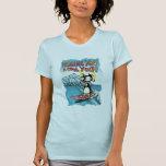 Cool Yule Tandem Surfing Hawaiian Penguins T-Shirt