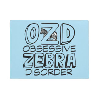 Cool Zebra Doormat