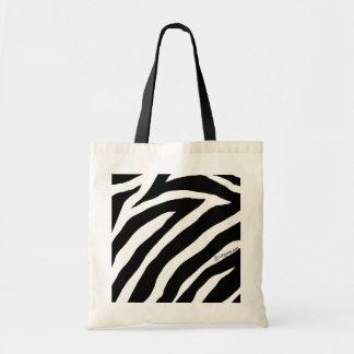 Cool Zebra Stripes Tote Bag tote