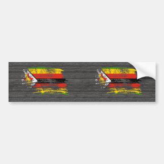 Cool Zimbabwean flag design Bumper Sticker