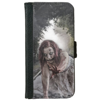 Cool Zombie Girl iPhone 6/6s Wallet Case