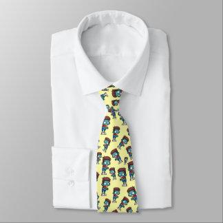 Cool Zombie Pattern Creepy Cute Tie