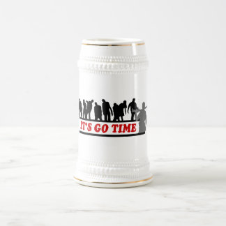 Cool ZOMBIES It's go time design 18 Oz Beer Stein