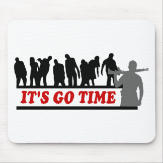 Cool ZOMBIES It's go time design Mouse Pad