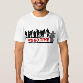 Cool ZOMBIES It's go time design T-Shirt