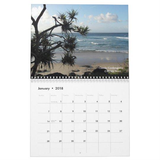 Coolangatta Area Calendar 2011