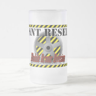 Coolant Reservoir - Mobile Armor Division Frosted Glass Beer Mug