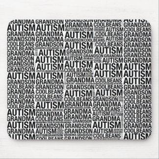 CoolBeans Autism Grandma Mousepad