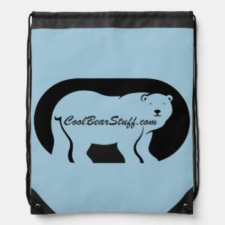 CoolBearStuff.com Drawstring Backpack