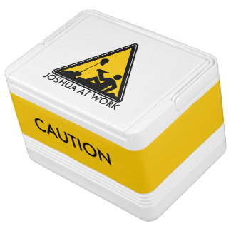 Cooler - Caution Men At Work