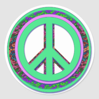 Cooler Peace Sticker