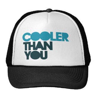 Cooler than you trucker hat