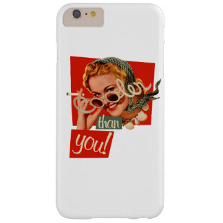 Cooler than you vintage smoking barely there iPhone 6 plus case
