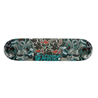#Cooles graffiti skateboard deck