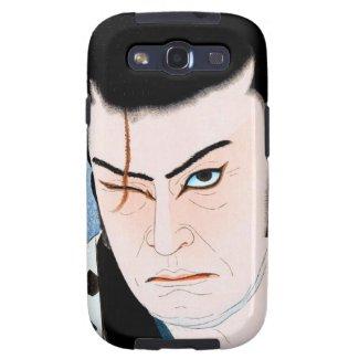 Cooles Japaner Kabuki Schauspielersamurai Narbepor Galaxy SIII Cases