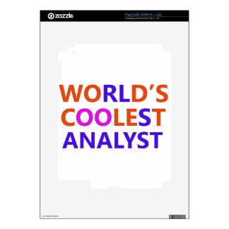 coolest analyst iPad 2 skins
