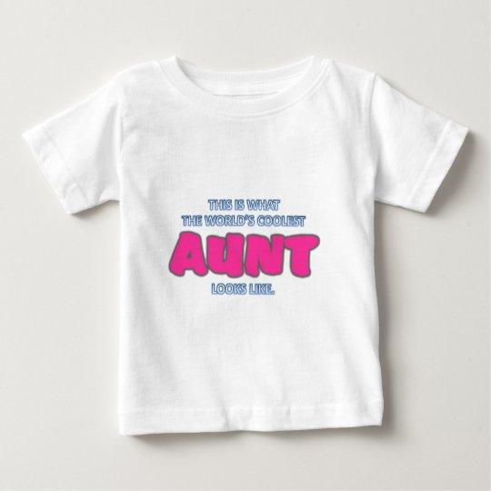 Coolest Aunt Baby T-Shirt