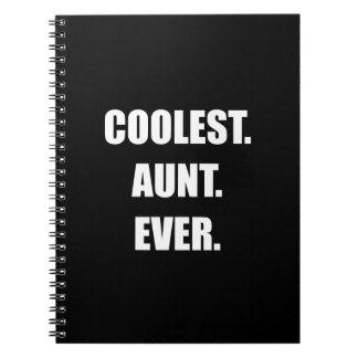 Coolest Aunt Ever Spiral Notebook