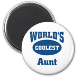 Coolest Aunt Refrigerator Magnets