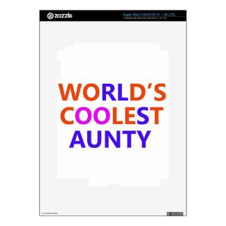 coolest aunt y iPad 3 skins