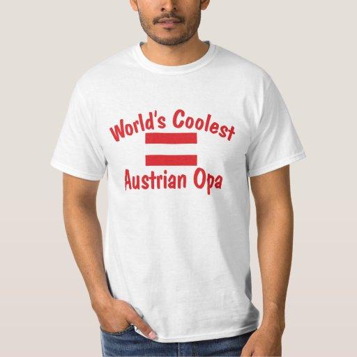 Coolest Austrian Opa Tee Shirt