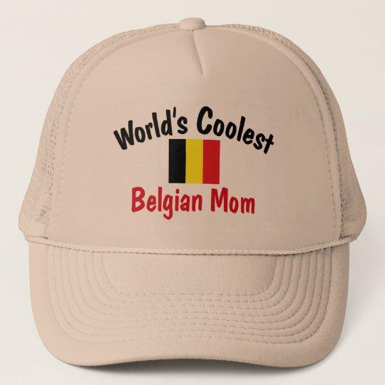 Coolest Belgian Mom Trucker Hat