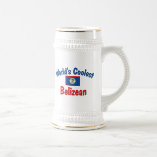 Coolest Belizean Beer Stein