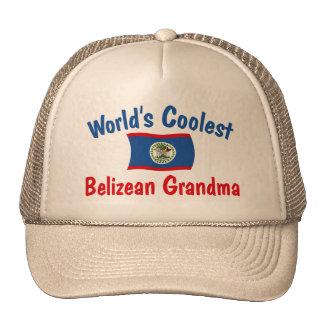 Coolest Belizean Grandma Trucker Hat