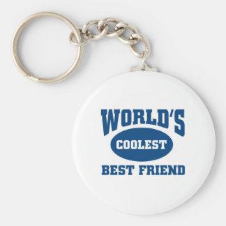 Coolest best friend keychain