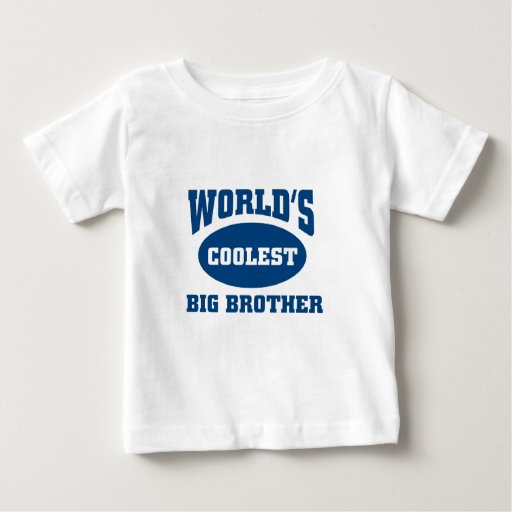 Coolest big brother t shirt