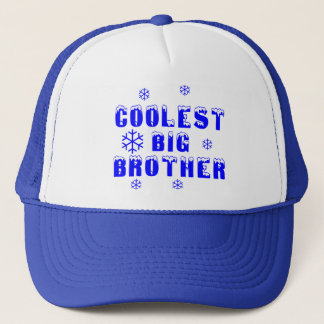 Coolest Big Brother Trucker Hat