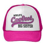 Coolest Big Sister Mesh Hat