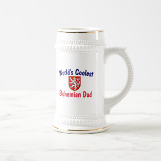 Coolest Bohemian Dad Beer Stein
