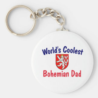 Coolest Bohemian Dad Keychain