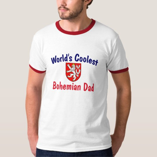 Coolest Bohemian Dad T-Shirt