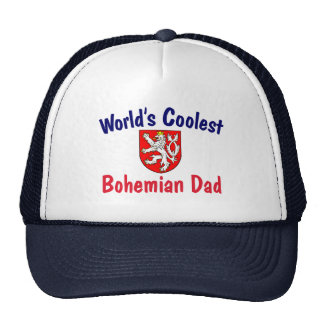 Coolest Bohemian Dad Trucker Hat