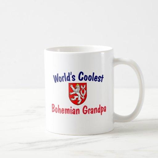 Coolest Bohemian Grandpa Classic White Coffee Mug