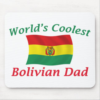 Coolest Bolivian Dad Mouse Pad