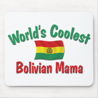 Coolest Bolivian Mama Mouse Pad