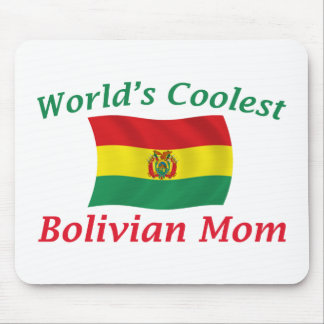 Coolest Bolivian Mom Mouse Pad